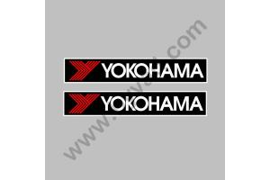 2 Stickers Yokohama